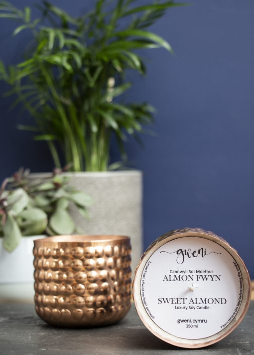 Sweet Almond Candle in Copper Bobble Tin