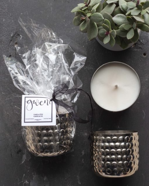 Cassis & Fig Metal Bobble Tin Candle