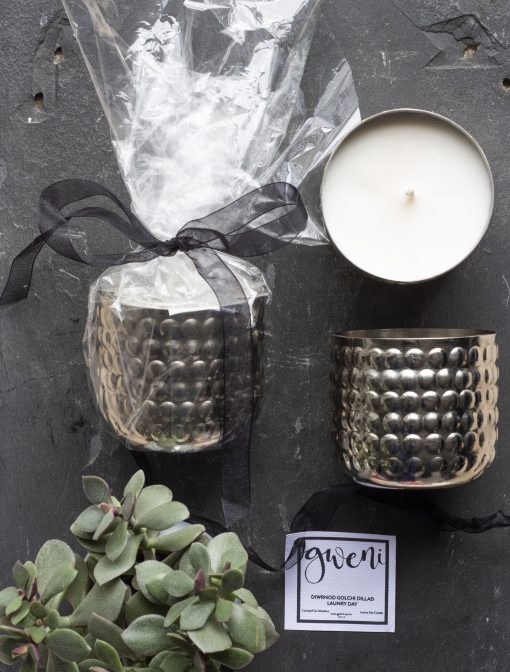 Laundry Day Metal Bobble Tin Candle