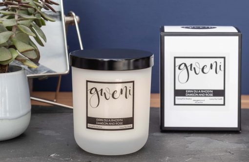 Damson & Rose Small Candle