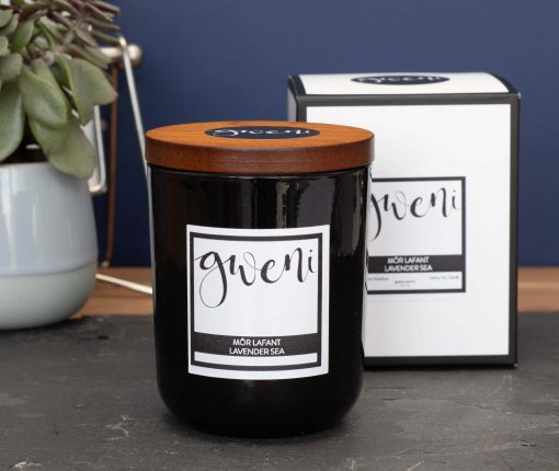 Lavender Sea Small Luxury Candle
