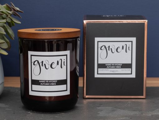 Autumn Vibes Large Luxury Candle