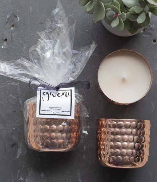 Reading Room Copper Container Candle