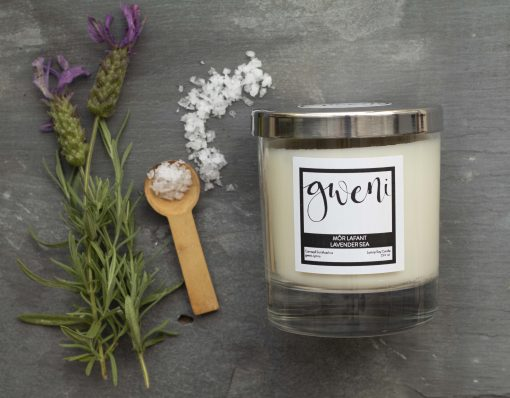 Lavender Sea Home Candle