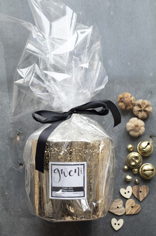 Gift wrapped Luxury Silent Night Candle