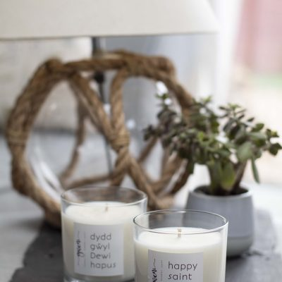 Saint David's Day Candles